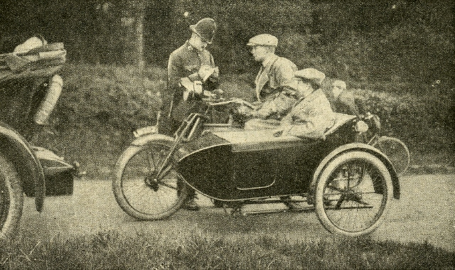 Mills and Fulford sidecar
