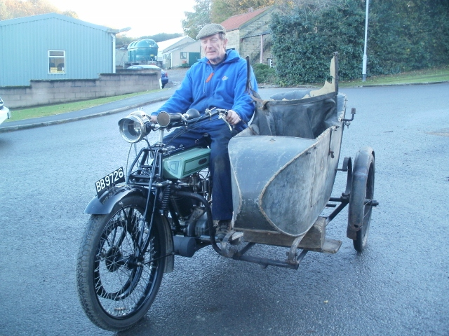 Dene and Sidecar being trial fitted