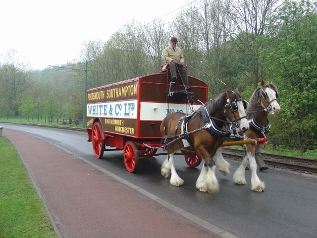 Horse Drawn Removal Van